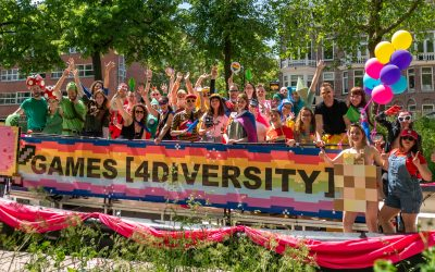 Pictures and video G4D @ Utrecht Canal Pride 2019