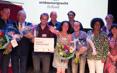 Games [4Diversity] wins Annie Brouwer-Korf Award 2019